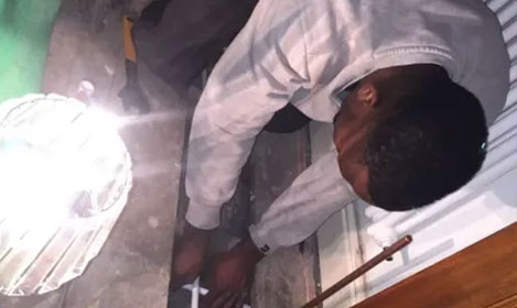 underfloor pipes being installed in Bristol